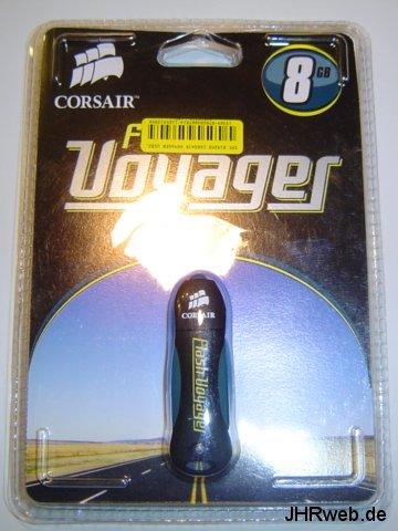 Corsair Flash Voyager 8GB Verpackung